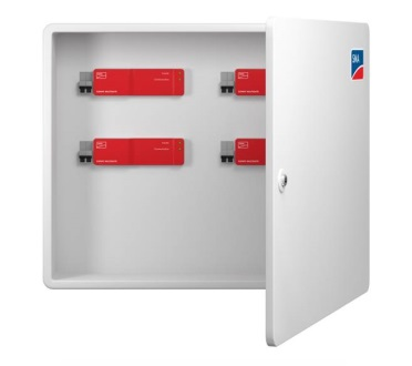 The Multigate is housed in a protected service box that is easy to access.