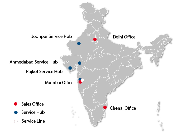 Map of SMA India