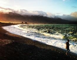 Kaikoura: Ein traumhafter Küstenort auf der Südhalbinsel Neuseelands mit Blick aufs Meer und auf die Berge