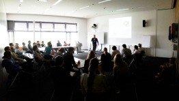 Großes Interesse an der Session Energiemanagement für die Energiewende von Christian Höhle