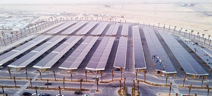 Saudi Arabia: The Largest PV Module-Covered Parking Lot in the World