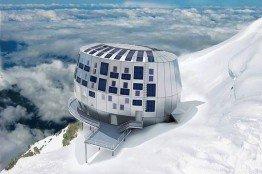 Ein Hotel der anderen Art: Das Solar Hotel auf dem Mont Blanc