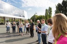 Vorstellung der netzautarken Solar Academy im Rahmen des letzten Barcamp Renewables