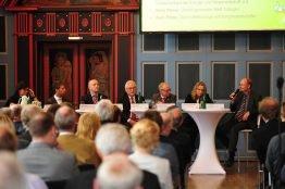 Podiumsdiskussion zum Thema Bundestagswahlen