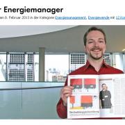 """Unser Kollege Christian Höhle, Autor zahlreicher Blogartikel und praktizierender Energiemanager, hat es sogar bis in das Magazin """"Stern"""" gebracht."""