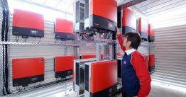 SMA Wechselrichter Installation