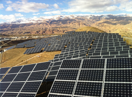 With 1 megawatt output, it is one of the world's largest off-grid solar systems.