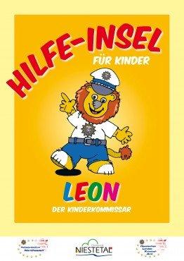 Plakat LEON-Hilfeinsel für Kinder