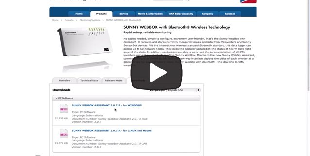 Sunny WebBox Assistant