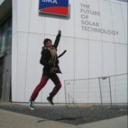 Me, once visiting the SMA headquarter in Germany