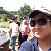Checking hot spots in solar panels