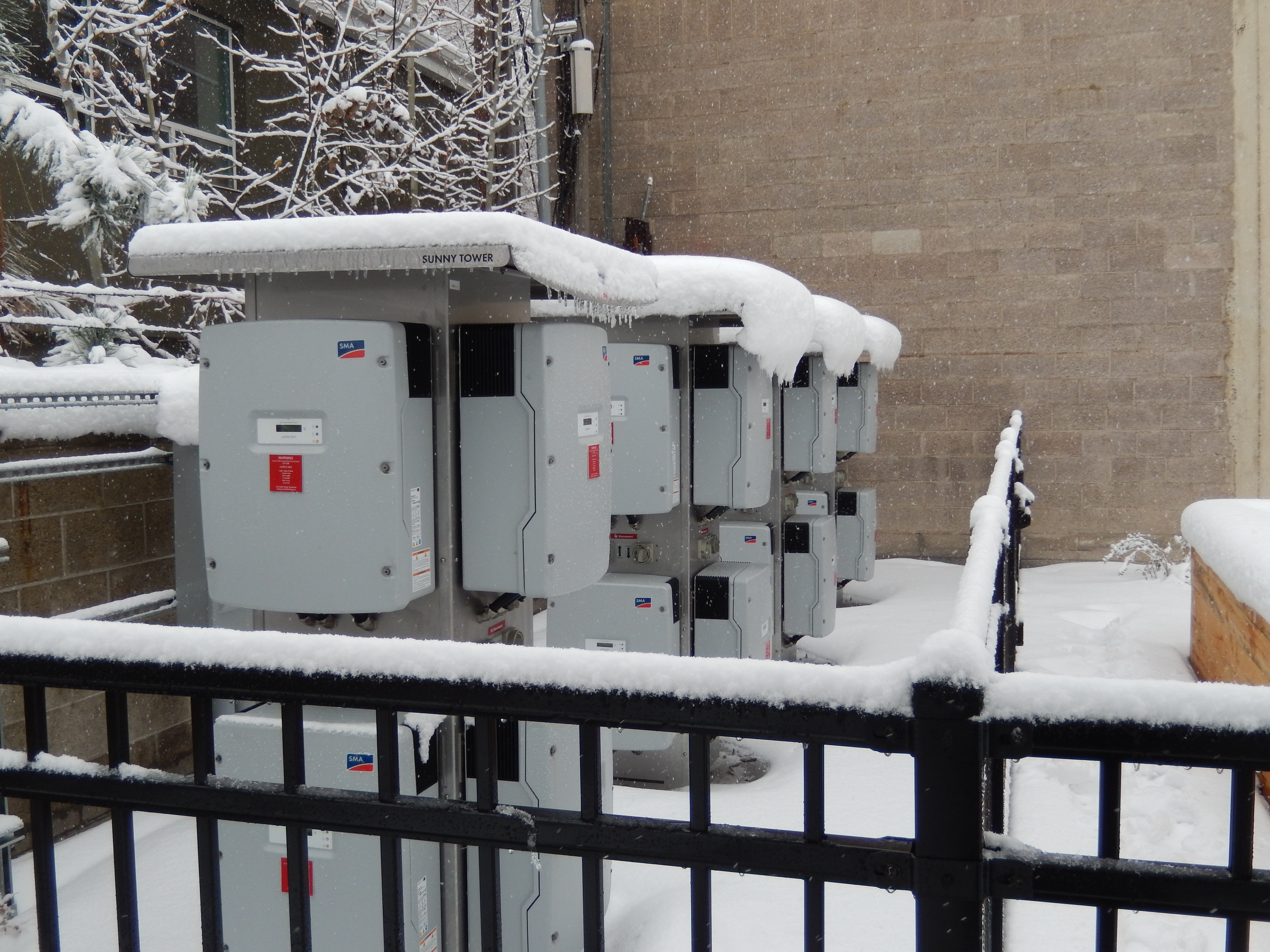 SMA inverters are ready to withstand Salt Lake City's often harsh winters.
