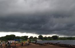 Rainy season in Mozambique