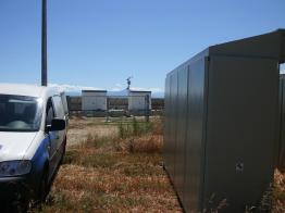 Wegen eines 6 prozentigen Leistungsabfalls der Anlage entschied sich der Betreiber dazu, den Satcom-Wechselrichter durch ein SMA Gerät auszutauschen