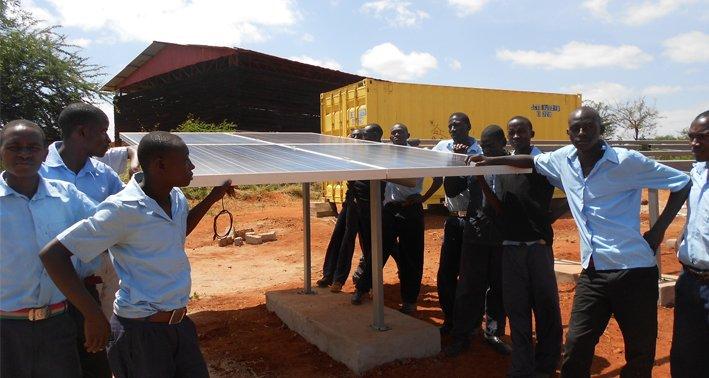 SMA Solaranlage Kenia