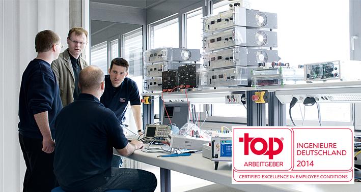 SMA ist Top Arbeitgeber 2014 für Ingenieure