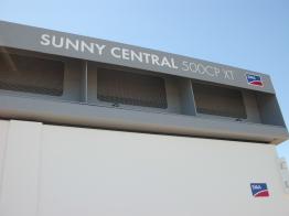 Als Ersatzgerät kommt ein Sunny Central CP zum Einsatz