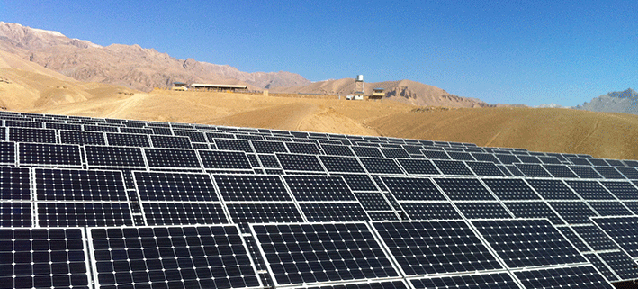 1 MW Off-Grid Plant Bamyan, Afghanistan