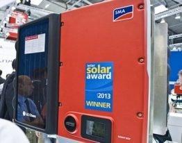 "Bestes Produkt der Kategorie ""Photovoltaics"": der neue Sunny Boy Smart Energy"
