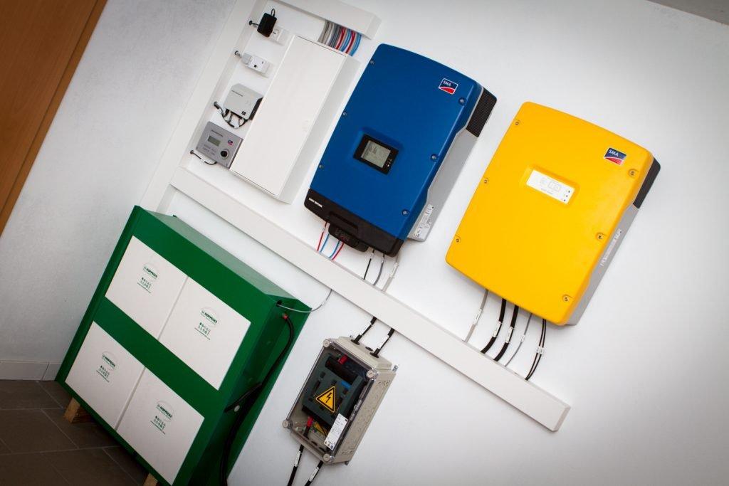 Das Smart Home System von SMA mit Hoppeke Batterie