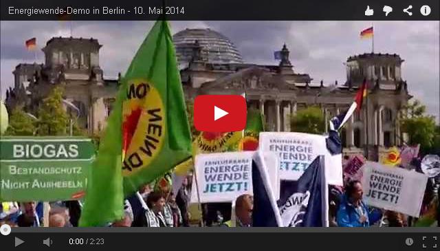 Energiewendedemo Berlin Mai 2014