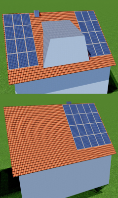 Die PV-Anlage in der Planungssoftware