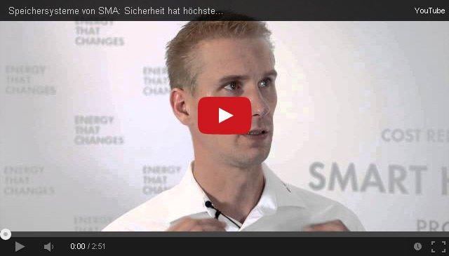 SMA Speicher Interview
