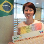 Mein Ausgefüllter WM Tipp - natürlich vor der Siegermannschaft Brasilien