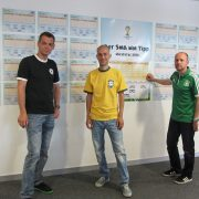 My colleagues collected the brackets. We are ready for the first match tonight