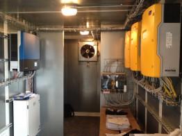 3 SMA Sunny Island sorgen für die intelligente Steuerung des Systems