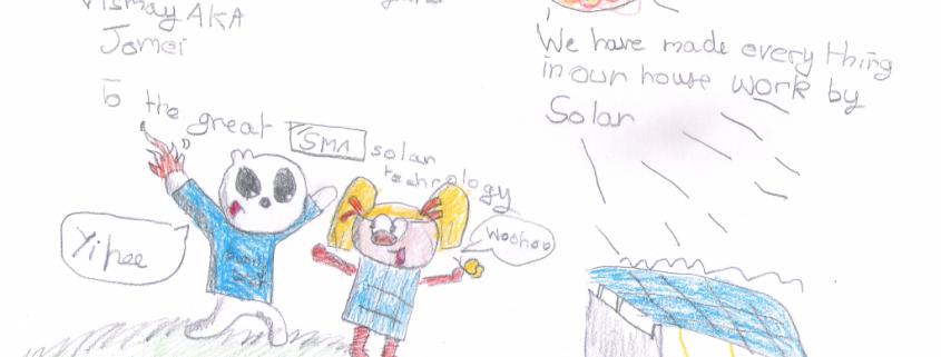 Sunny Bear and Solarina