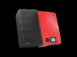 """Wichtige Komponente im EnergieSpeicherPlusHaus: Der Solar-Wechselrichter """"Sunny Boy Smart Energy"""" mit integrierter Batterie"""