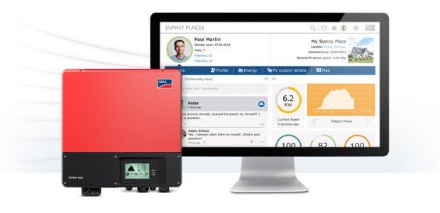 Online Solaranlagen überwachen mit SMA
