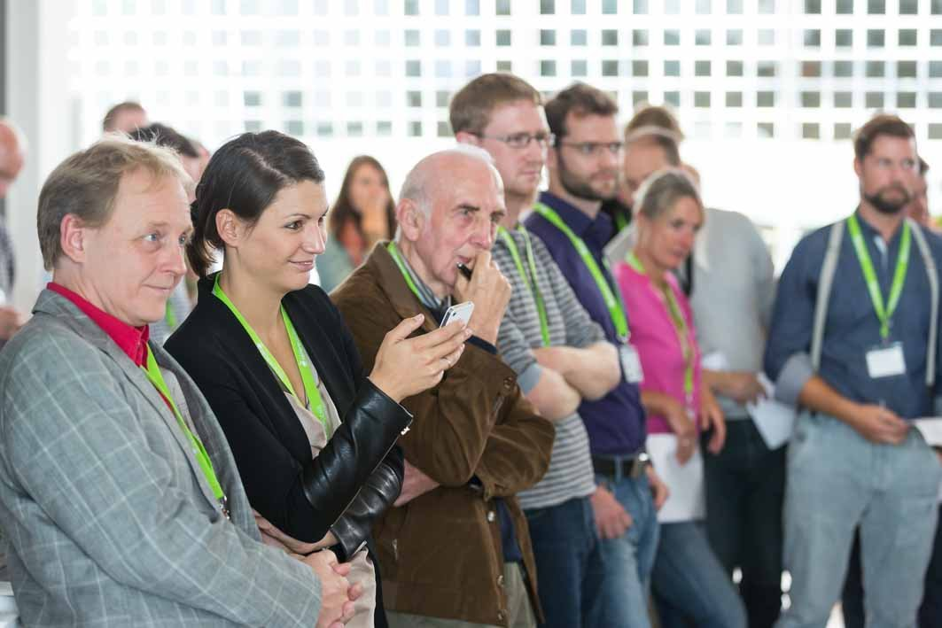 Zuhören, diskutieren, netzwerken: Das Barcamp bietet den perfekten Rahmen. Foto: Heiko Meyer