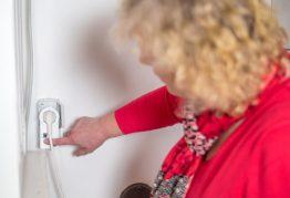 Die Funksteckdose im Keller verwenden wir wechselweise für die Waschmaschine und den Trockner.