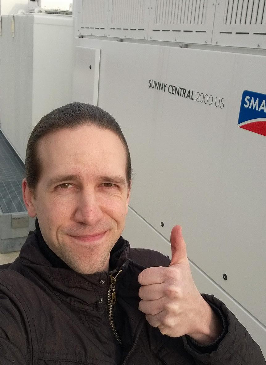 SMA Testanlage: Solarstrom erzeugen und Prototypen erproben - Jens_Alter