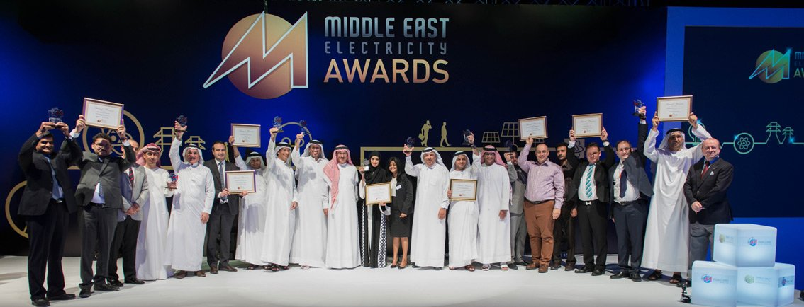All winners of the Middle East Electricity Award 2015.