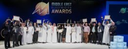 Die Preisträger des Middle East Electricity Awards 2015.