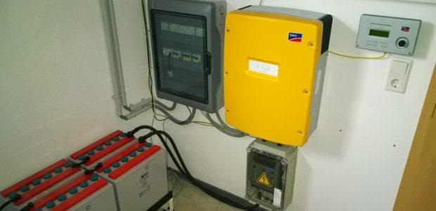SMA Smart Home mit Sunny Island Wechselrichter