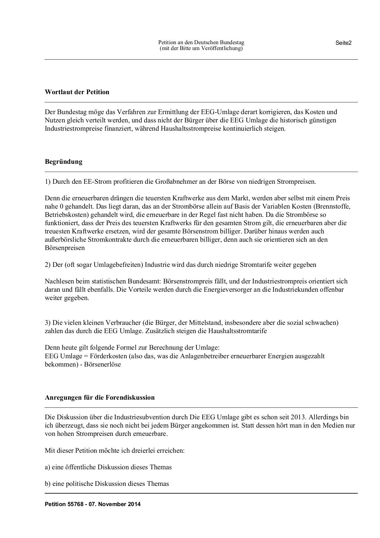 Deine EEG-Umlage finanziert historisch niedrige Industriestrompreise ...