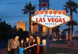 Selbst das berühmte Las Vegas Zeichen funktioniert mit einem Sunny Boy von SMA.