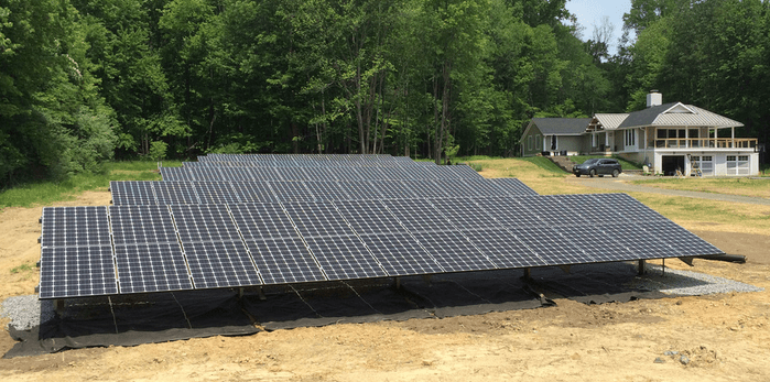 Hydrogen House Solar Array