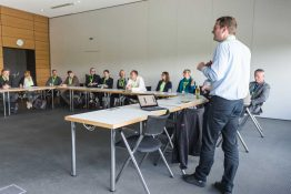 Regionalmanagement: Barcamp Renewables bei SMA. Foto: Heiko Meyer
