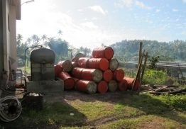 """The Destroyers"": Barrels of oil on Kadavu Island"