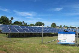 Die Fidji-Insel Rotuma spart Treibstoff: mit der 153 kW Solaranlage u.a. von SMA
