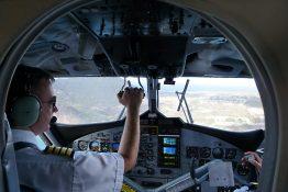 Viermal pro Tag wird St. Eustatius von St. Maarten aus angeflogen.
