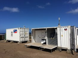 Wechselrichter-Technik im kompakten Container