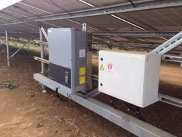 All in all 830 Sunny Tripower inverters have been installed here.