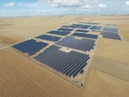 Konya Kızören'de bulunan 22,5 MW büyüklüğündeki proje, şu an itibarıyla kurulu en büyük FV Güç Santrali