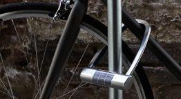 Solarenergie und Batterie sorgen für sicheres Anschließen des Fahrrades mit dem Skylock.
